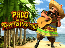 Paco And Popping Peppers Слот